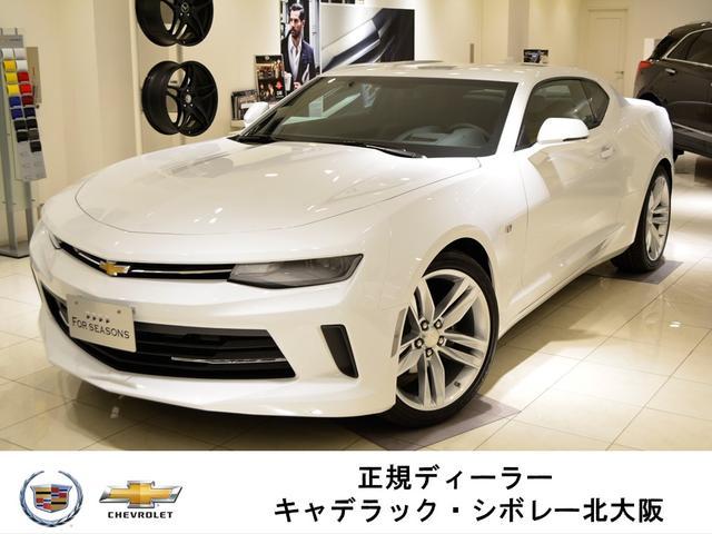 シボレー LT RS GM正規D車 新車未登録 サンルーフ 黒レザー