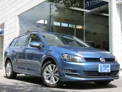 VW ゴルフヴァリアントTSIコンフォートラインブルーモーションテクノロジーナビ