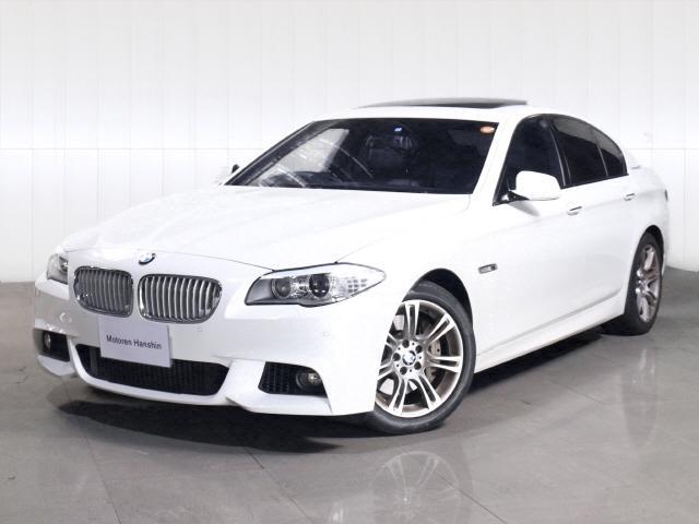BMW アクティブハイブリッド5 Mスポーツ ガラスサンルーフレザー