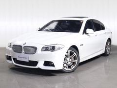 BMWアクティブハイブリッド5 Mスポーツ ガラスサンルーフレザー