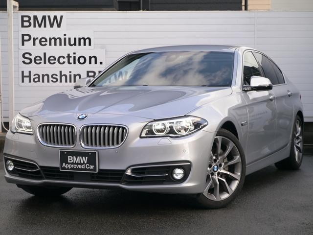 BMW 535iモダンLEDライトOP19AW黒レザー1オナACC