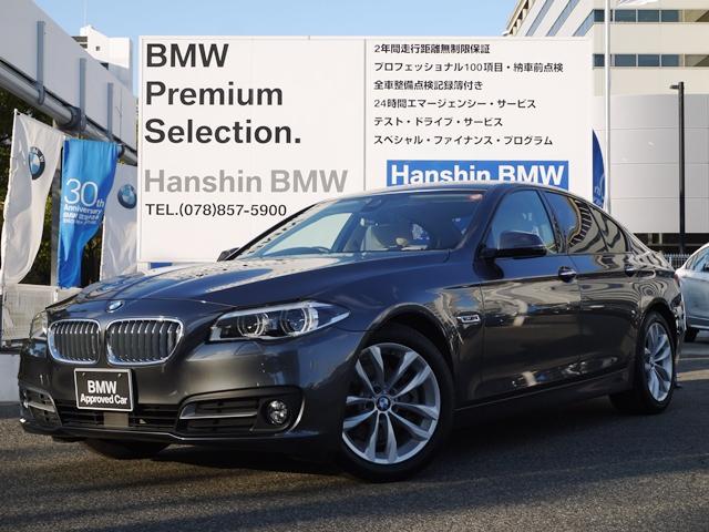 BMW 523dグレースライン限定車液晶メーターLEDライト革シート