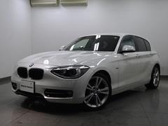 BMW116i スポーツ1オーナー車HDDナビキセノン純正18AW