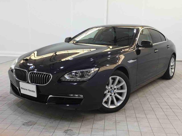 BMW 640iグランクーペコンフォートPKGガラスR茶革1オーナ-