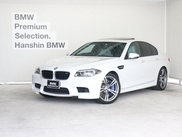 BMW M5白革20AWサンルーフLEDトップビューソフトクローズ
