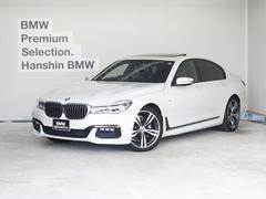 BMW740i Mスポーツ茶革20AWサンルーフACCLEDライト