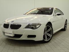 BMW M6ベースグレード認定保証後期モデル1オーナー黒革シートヒーター