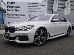 BMW750i Mスポーツ認定保証V8タ−ボ20AW1オ−ナ−SR