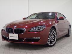 BMW640iグランクーペ認定保証LEDヘッドSRアイボリ−革