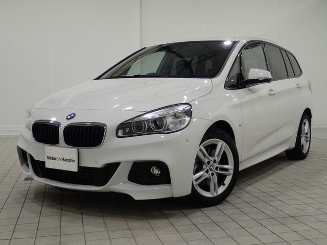 BMW 218dグランツアラーMスポーツ認定保証コンフォートPKG