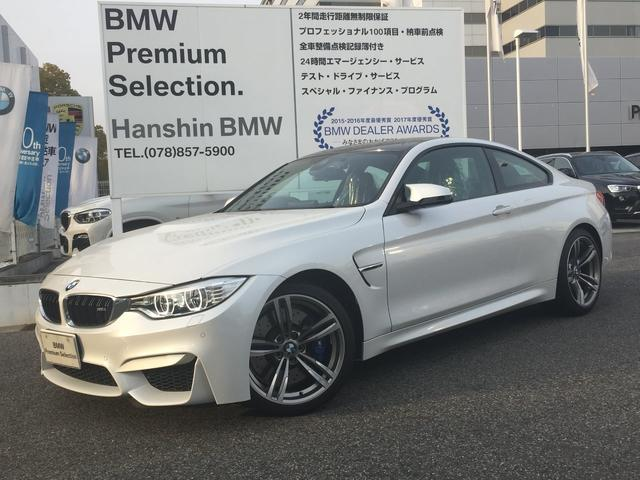 BMW M4クーペMドライブ認定保証オプション19AW1オーナ-黒革