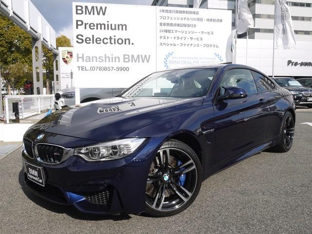 BMW M4クーペ認定保証6MTインディビジュアル仕様サンルーフ白革