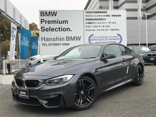 BMW M4クーペ認定保証OP19インチAW黒革Mサスペンション