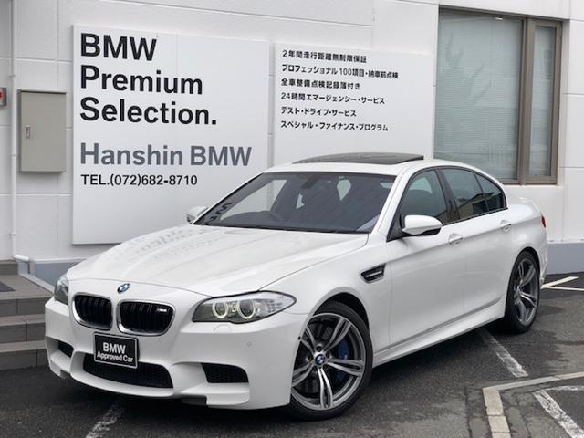 BMW M5認定保証20AWサンルーフ黒革ヘッドアップD