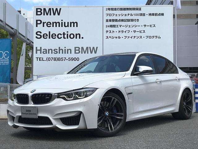 BMW M3セダン認定保証Pサポート純正19AWタッチパネル地デジ
