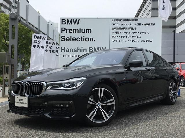 BMW 740dxDriveMスポーツ黒革20AWサンルーフLED