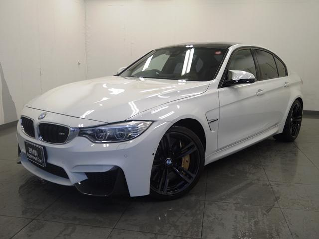 BMW M3認定保証カーボンブレーキHDDナビMサス19inAW