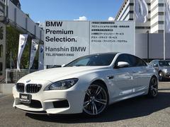 BMW M6グランクーペ 認定保証20AWセーフティーPKG黒革シート