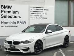 BMW M4M4クーペ認定保証6MT黒革19inアルミMサスペンション
