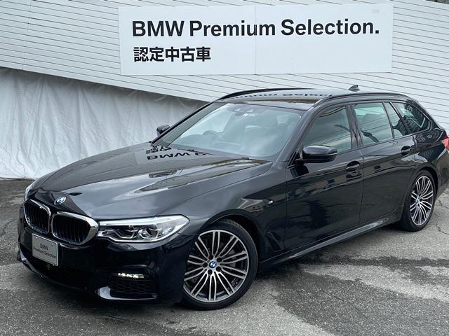BMW 523dツーリング Mスポーツ黒革ACCヘッドアップ1オーナ