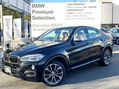 BMW X6xDrive 35i認定保証インテリセ−フティー ブラウン革