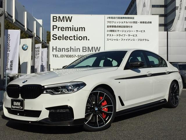 BMW 523dMスポーツMパフォーマンスパーツ車両弊社デモカー黒革