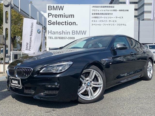 BMW 640iグランクーペ Mスポーツ 液晶メ-タ-HUD茶革SR