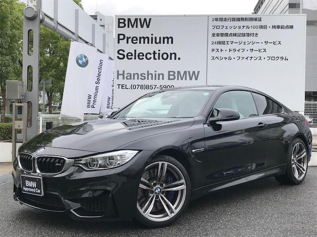 BMW M4 M4クーペ 純正19インチアロイホイール Mサスペンション ワンオーナー シルバーストーンレザーシート シートヒーター LEDヘッドライト クルーズコントロール 衝突軽減ブレーキ 車線逸脱警告 F82
