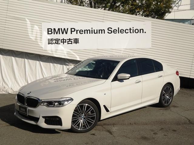 BMW 523d Mスポーツ イノベーションパッケージ ヘッドアップディスプレイ アクティブクルーズコントロール ジェスチャーコントロール リモートパーキング HDDナビ地デジ レーンコントロールアシスト 19インチアルミ G30