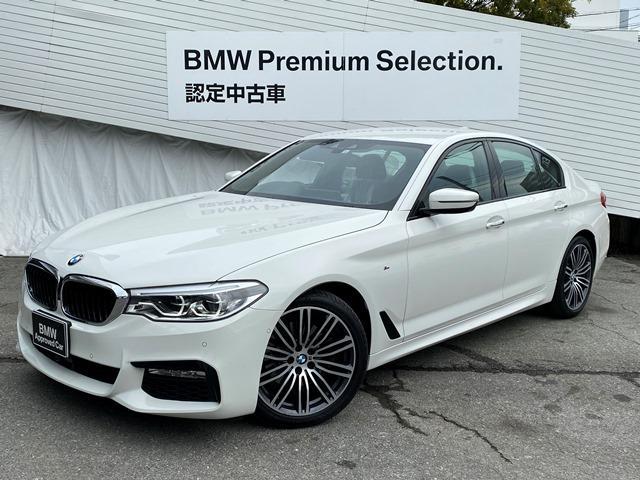 BMW 523i Mスポーツ 弊社元レンタカー イノベーションパッケージ ヘッドUPディスプレイ HDDナビ 地デジ オートハイビーム アクティブクルーズコントロール レーンチェンジウォーニング 液晶メーター LED  19AW