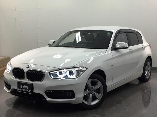 BMW 118d スポーツ コンフォートパッケージ パーキングサポート LEDヘッドライト LEDフォグライト 衝突被害軽減ブレーキ 純正HDDナビ ミュージックサーバ Bluetooth ミラー一体型ETC バックカメラ