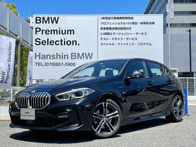 BMW 1シリーズ 118d Mスポーツ 弊社元デモカー バックカメラ LEDヘッドライト PDCコーナーセンサー 電動リアゲート 純正HDDナビ Mスポーツ専用シート 衝突軽減ブレーキ SOSコール アクティブクルーズコントロール