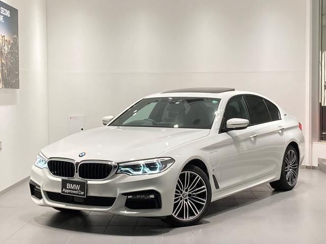 BMW 5シリーズ 530e Mスポーツアイパフォーマンス 1オーナー セレクトパッケージ イノベーションパッケージ ブラックレザー Mブレーキ HDDナビ 地デジ 全周囲カメラ LED ブラックレザー シートヒーター パワーシート