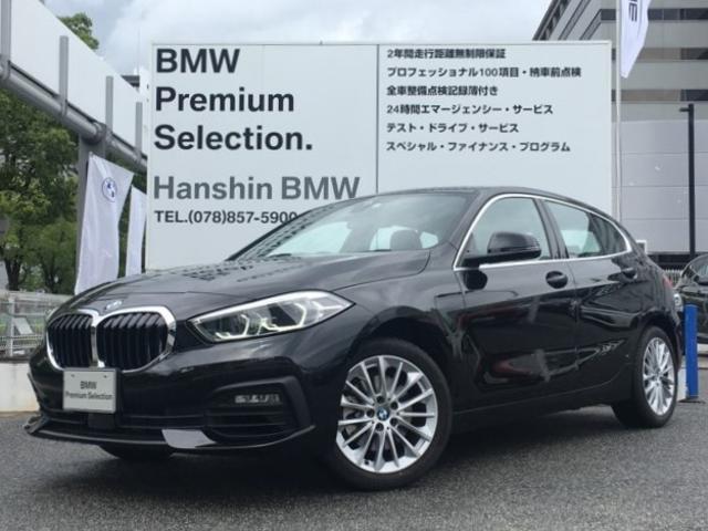 BMW 118i プレイ 当社デモカー ACC 電動トランク パーキングサポート LEDヘッドライト 純正HDDナビ 衝突軽減ブレーキ 車線逸脱警告 レーンチェンジウォーニング コンフォートアクセス   純正17インチアルミ