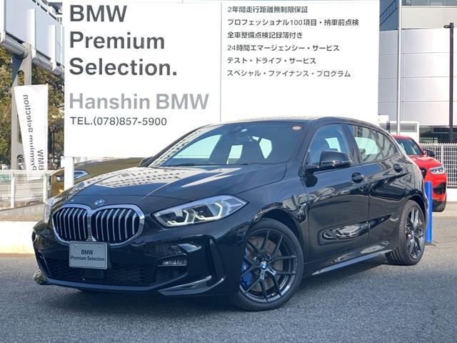 BMW 118i Mスポーツ 元弊社デモカー ナビPKG コンフォートPKG Mスポーツプラスパッケージ LEDヘッドライト アクティブクルーズコントロール スポーツシート パーキングアシスト Mブレーキ 純正OP18インチAW