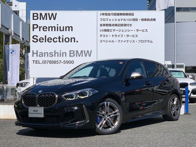 BMW M135i xDrive ワンオーナー デビューパッケージ Mブレーキ アダプティブサスペンション Mスポーツシート Mシートベルト シートヒーター 電動シート ミラーETC LEDヘッドライト 後退アシスト