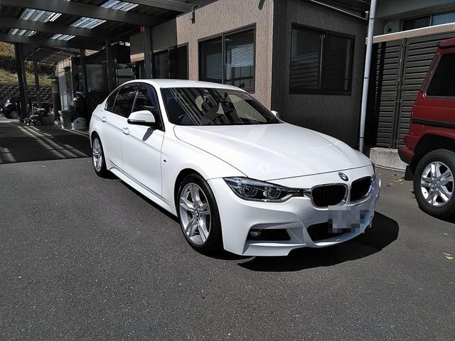 BMW 3シリーズ 320d Mスポーツ 当社買取車 ワンオーナー 純正ナビカメラ インテリジェントセーフティ LEDヘッドライト レーンウォーニング アクティブクルコン コンフォートアクセス トランクリッドスマートオプナー ミラーETC