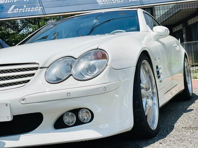 メルセデス・ベンツ SL55 AMG BRABUS SL K8 コンプリート 550馬力