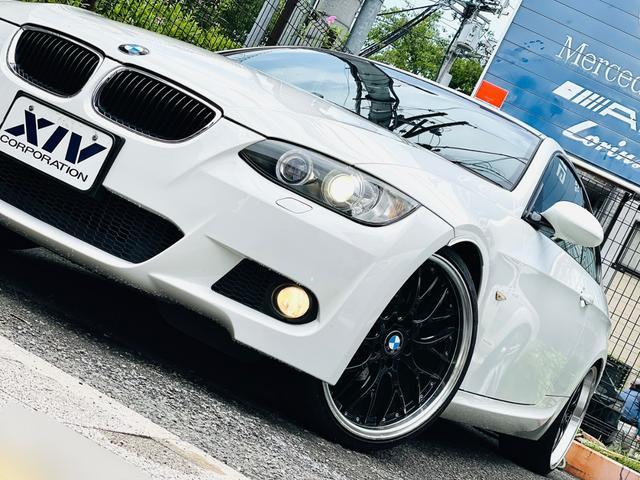 BMW 320i Mスポーツパッケージ 社外マフラー・20インチAW 社外ナビ・レザーシート・ロックナット