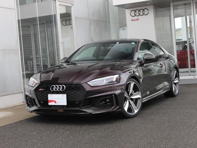 アウディ  スペシャルボディカラー (Audi exclusive) RSスポーツエグゾーストシステム エクステリアハウジングカーボン カーボンスタイリングP カーボンルーフ セラミックブレーキ(フロント)