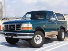 フォード ブロンコエディバウアー ベージュレザー 1ナンバー 最終モデル 新並