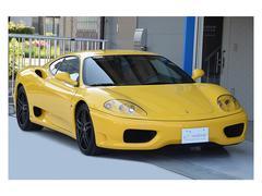 フェラーリ 360モデナ 後期モデル 正規ディーラー車 6MT 左H 禁煙車