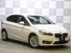 BMW218iATラグジュアリー 禁煙 純正ナビTV 黒革シートH
