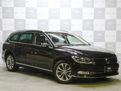 VW パサートヴァリアントTSIハイライン 禁煙 黒革 ナビTVBカメ 自動ブレーキ