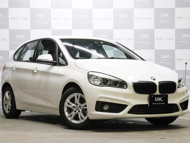 BMW 218iAT 禁煙 プラス・パーキングサポートP 純正ナビ