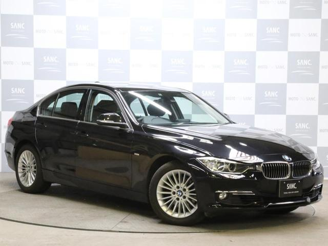 BMW 320i xDriveラグジュアリ 黒革ナビ