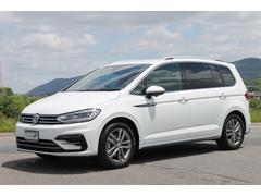 VW ゴルフトゥーランTSI Rライン ディスカバープロ純正ナビ DCC・PKG