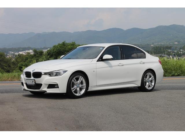 BMW 320i Mスポーツ 純正OP:黒レザー 後期 延長BSI