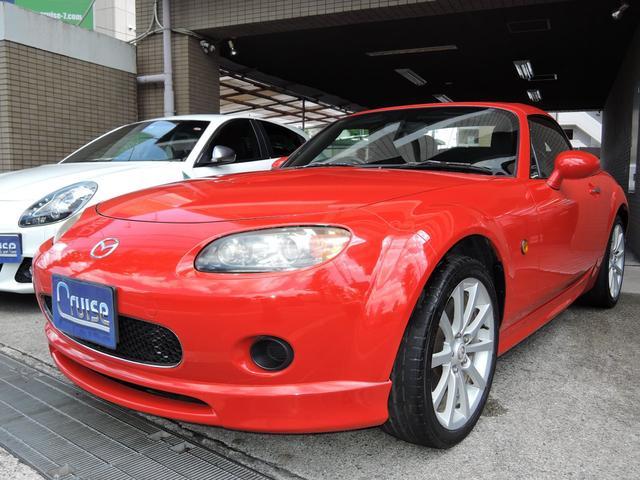 マツダ RS RHT6速MT電動オープン新品タイヤHDDナビETC