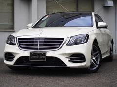 M・ベンツS560 4マチックロング AMGライン 新車保証継承